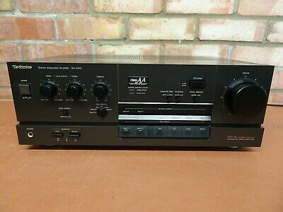 £160 • Buy Technics SU-V650 Stereo Integrated Amplifier - Class AA & VC-4 - Fully Working
