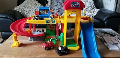 £5 • Buy Fisher Price Little People Garage, Vehicles, Porsche, Sounds, Perfect Condition.