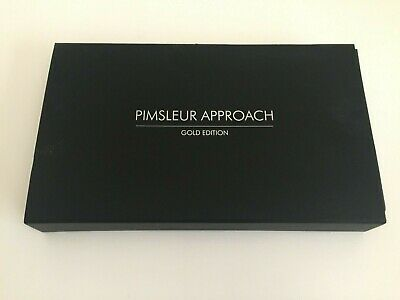 £16.96 • Buy PIMSLEUR APPROACH Gold Edition Spanish 4 - IV 16 Audio CDs 30 Lessons