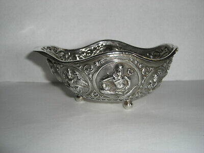 £60 • Buy Antique Indian Silver Sweet/wine Dish. Invalid Feeder.