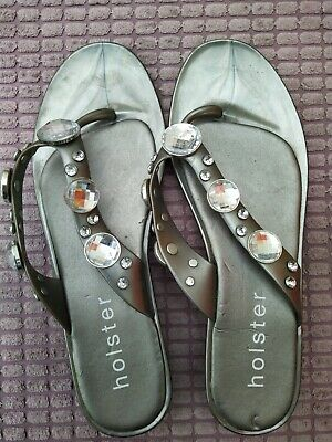 £4 • Buy Holster Toe Post Sandals Size 7