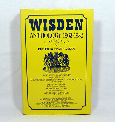 £5.99 • Buy Wisden Anthology 1963-1982 Book Edited By Benny Green