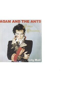 £3.99 • Buy Adam And The Ants - Prince Charming (CD 2008) Promo; Reissue; FREE UK P&P