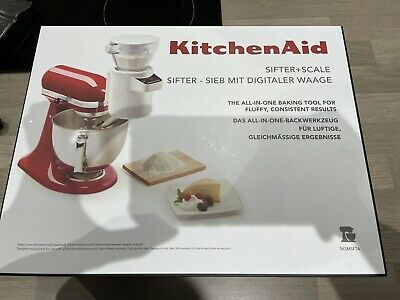 £70 • Buy KitchenAid Stand Mixer Attachment Sifter & Scale USED ONCE