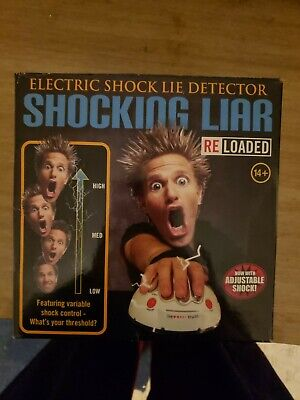 £3.54 • Buy Shocking Liar Electric Shock Lie Detector Truth Game Toy