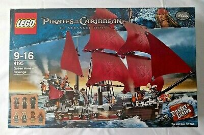 £345 • Buy LEGO Pirates Of The Caribbean 4195 Queen Anne's Revenge 100% COMPLETE & BOXED