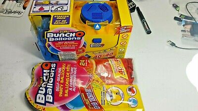 £0.71 • Buy Zuru Bunch O Balloons Party Balloon Electric Air Pump Xtra Starter Pack Blue Red
