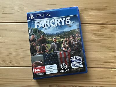 AU24 • Buy Far Cry 5 - PlayStation 4 (PS4), Very Good Used Condition, Free Postage