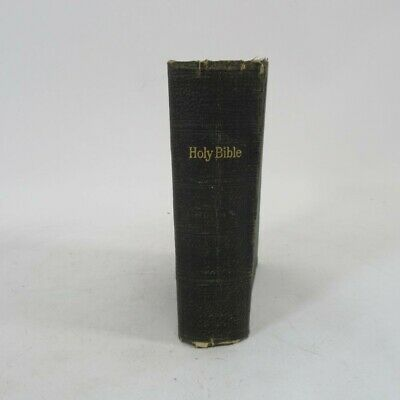 £14 • Buy Holy Bible Old & New Testaments Christian Antique Eyre & Spottiswood Leather