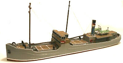 £189.87 • Buy 148ft Raised Foredeck Freighter/ Coaster UNPAINTED OO Scale Langley Models Kit