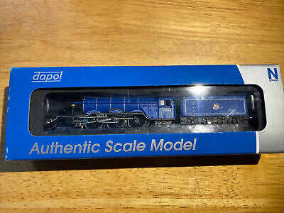 £82 • Buy Dapol N Gauge A3 Flying Scotsman 60103 BR Express Blue Early Crest 2S-011-003