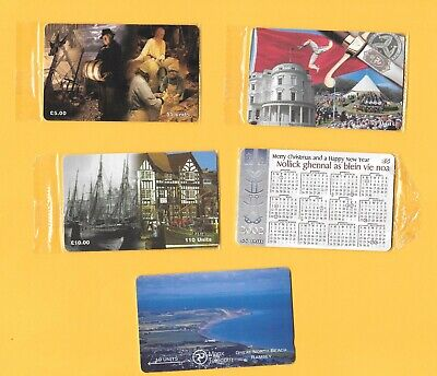 £20 • Buy Collection Of 12 Isle Of Man Phonecards