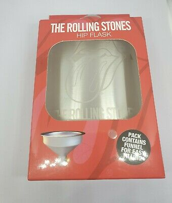 £5.49 • Buy The Rolling Stones Hip Flask