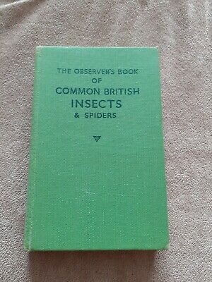 £7.99 • Buy 1953 Observer's Book Of Common British Insects And Spiders