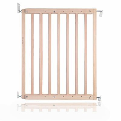 £22.95 • Buy Safetots Chunky Wooden Screw Fit Wood Baby Safety Stair Gate 63.5cm - 105.5cm