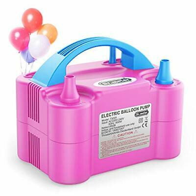 £30.18 • Buy Balloon Air Pump,  Electric Inflator Pump With Dual Nozzle Inflator