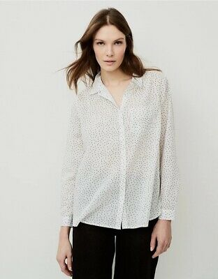 £10 • Buy The White Company White Label Voile Cotton Shirt 10