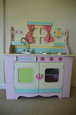 £15 • Buy Girls Early Learning Wooden Play Kitchen / Cooker / Oven / Sink