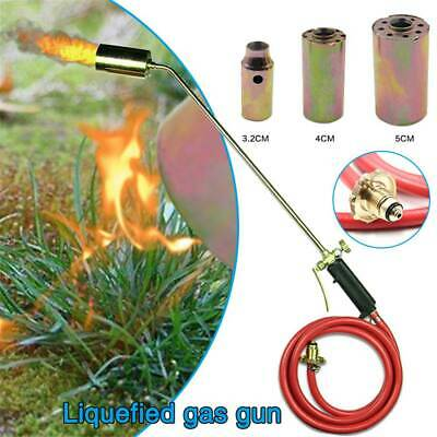£27.99 • Buy Long Arm Propane Butane Gas Torch Burner Blow Kit Roofers Roofing Brazing+Hose