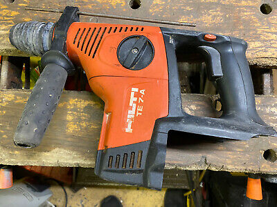 £130 • Buy Hilti TE7-A Cordless Hammer Drill 36V SDS With Chisel Action  2012