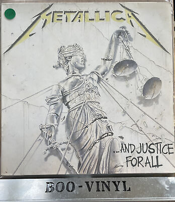 £7.50 • Buy Metallica - And Justice For All - 1988 Double Vinyl LP Record VG / VG+ Con