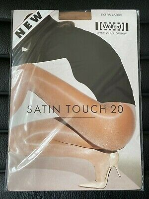 £11.99 • Buy Wolford Satin Touch 20 Den Tights, Size: XL Colour: Caramel