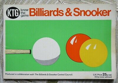 £1.50 • Buy 'Know The Game : Billiards & Snooker' 1972 Edition