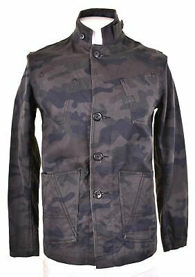 $43.37 • Buy G-STAR Mens Military Jacket Size 40 Large Grey Camo Cotton Slim Fit CF08