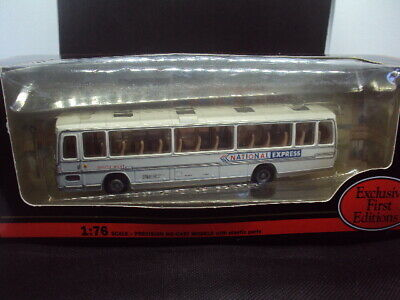 £4 • Buy E.f.e 1:76 Scale South West N.b.c National Express Plaxton Coach Model !!