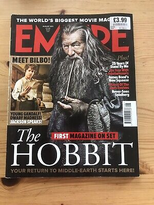 £10.99 • Buy Collectable Empire Magazine The Hobbit Gandalf Cover Edition 266 August 2011