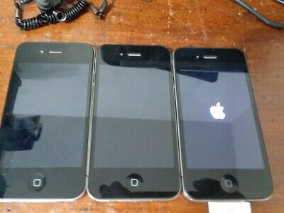 $ CDN27.69 • Buy Lot Of 3 Apple IPhone Model A1332  No Crack On Screen, Turn On. For Parts