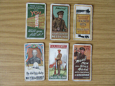£15 • Buy Wills Cigarette Cards - WW1 Recruiting Poster - 1915