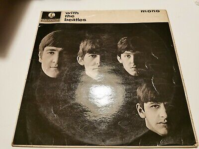 £12 • Buy With The Beatles Parlophone Mono Pmc 1206 12inch Vinyl /record