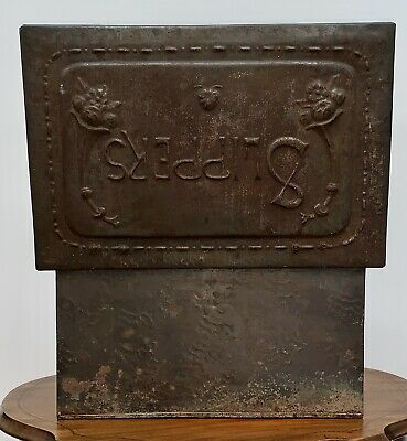 £40 • Buy Antique Metal Slipper Box Arts And Crafts Design Old Collectable