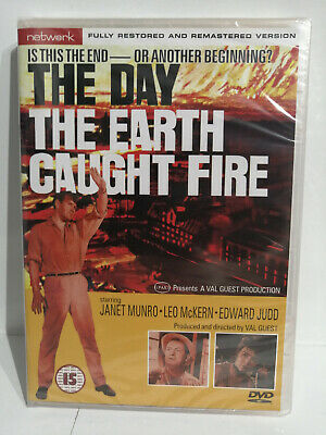£4.99 • Buy The Day The Earth Caught Fire Dvd Network New And Sealed - Free Postage