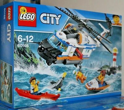 £39.99 • Buy Lego 60166 City Coast Guard Heavy-Duty Rescue Helicopter New In Sealed Box