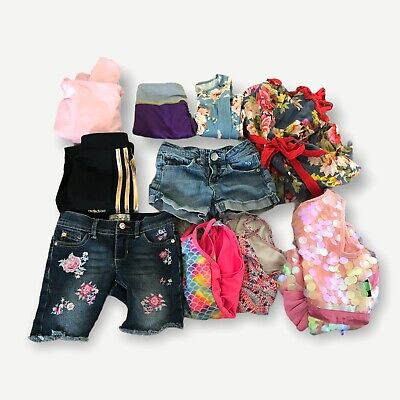 AU16.87 • Buy GIRLS SUMMER CLOTHES Lot Of 10 SIZE 6/6X Adidas Justice Under Armour