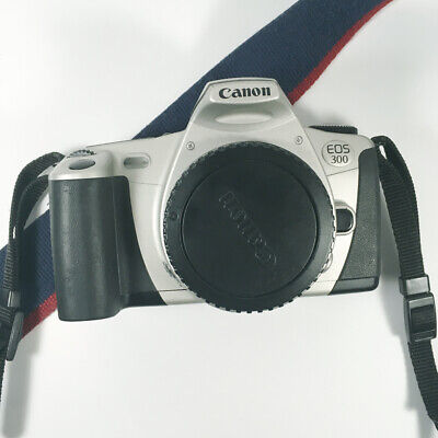 £20 • Buy Canon EOS 300 35mm SLR Film Camera Body Only - Strap And Bodycap