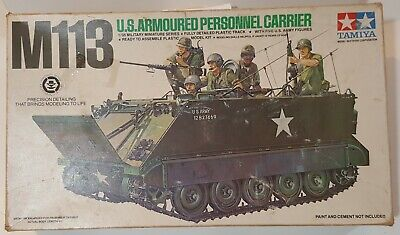 $18.99 • Buy Vintage RARE Tamiya M113 Armoured Personnel Carrier, Kit #MM-140A, 1:35 Scale