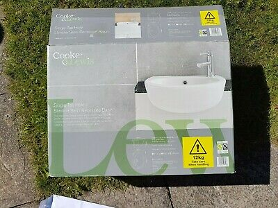 £38 • Buy  Cooke And Lewis Bathroom Basin H215 X W490 X D345 Mm - Local Collection