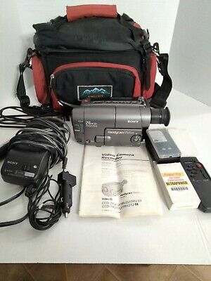 $ CDN155.63 • Buy Sony Handycam CCD-TRV22 Video8 Camcorder VCR Player With Case And REMOTE