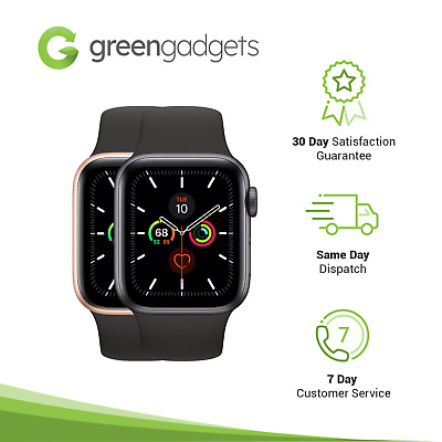 AU429 • Buy Apple Watch Series 5 40mm GPS - As New -  Grey Gold Silver