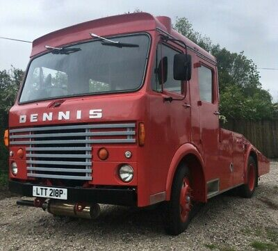 £12000 • Buy Dennis Fire Engine Recovery Transporter Plant Truck