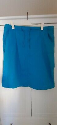 £4.99 • Buy Gorgeous Turquoise Knee-length Chino Skirt By Julipa/ SimplyBe. Sz 26.