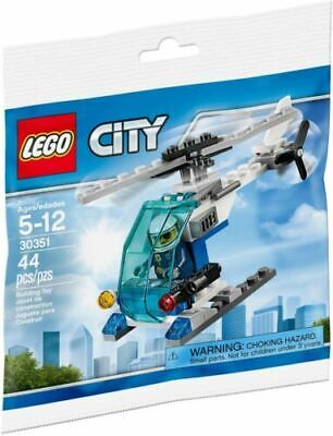 £6.95 • Buy LEGO City Polybag Police Helicopter Brand New & Sealed 30351