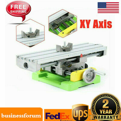 $81 • Buy XY-axis Compound Milling Machine Work Table Cross Slide Bench Drill Vise US SALE