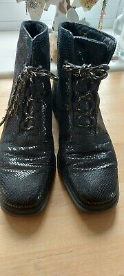 £6 • Buy ROHDE Snakeskin Boots Size 7