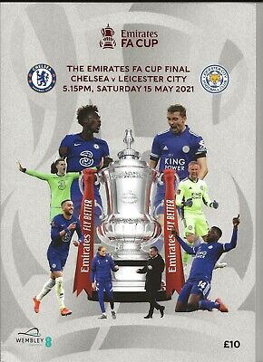 £10 • Buy 2021 FA Cup Final Programme Leicester City V Chelsea