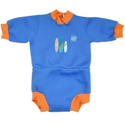 £3 • Buy Splash About Baby Happy Nappy Wetsuit With Swim Nappy - Small Newborn 0-3 Months