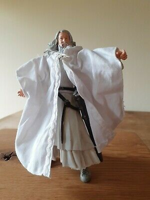 £2.50 • Buy Lord Of The Rings 2002 Gandalf The White Marvel Action Figure Return Of The King